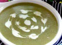 Nấu cháo súp bông cải xanh cho bé từ 4 tháng tuổi trở lên