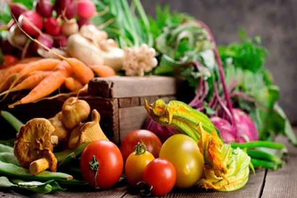 Khử độc cho rau củ quả