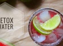 Nước detox là gì? Các công thức nước detox