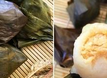 Bữa sáng giản dị với bánh nếp nhân đậu xanh dừa