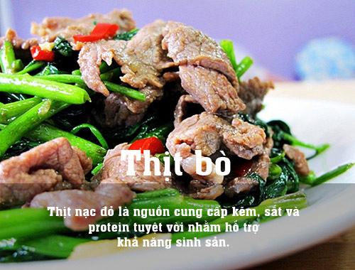 10 thuc pham la thuoc bo cho me muon thu thai - 9
