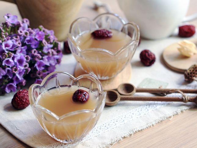 Món nước quả lê mật ong tiêu đờm, trị ho mùa lạnh