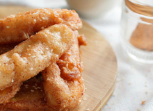 Làm bánh chuối theo kiểu này đảm bảo ăn không muốn dừng!