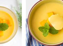 20 phút cho món pudding xoài siêu ngon