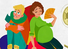 12 bức vẽ khiến mẹ bầu nào xem xong cũng chỉ biết gật gù tâm đắc