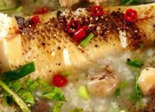 Cháo cá lóc thịt bằm cho cuối tuần