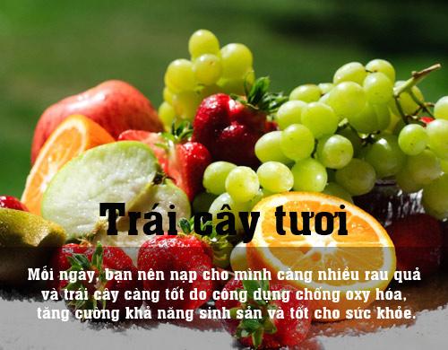 10 thuc pham la thuoc bo cho me muon thu thai - 10