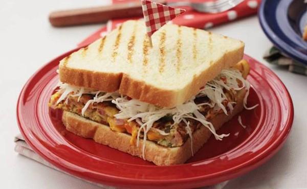 Bánh kẹp sandwich thơm ngon cho bữa sáng đầy dưỡng chất 14