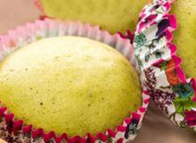 Không cần lò nướng, làm bánh cupcake trà xanh cực ngon