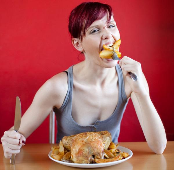 sai lầm trong ăn uống khó có thai