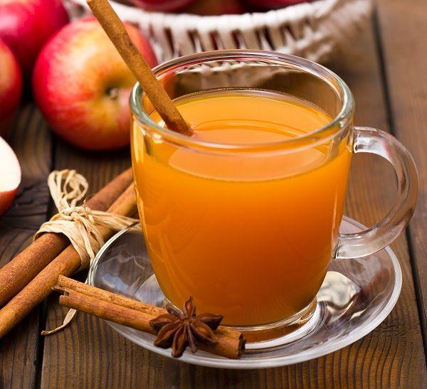 Thức uống rượu táo nóng cho ngày Thu se lạnh