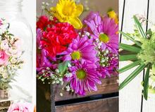 Biết 3 cách cắm hoa này khỏi lo nhà đơn điệu