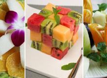 Thêm 3 cách bày đĩa trái cây trang trí cho mâm cơm ngày Tết