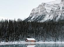 Thiên đường tuyết trắng ở Canada