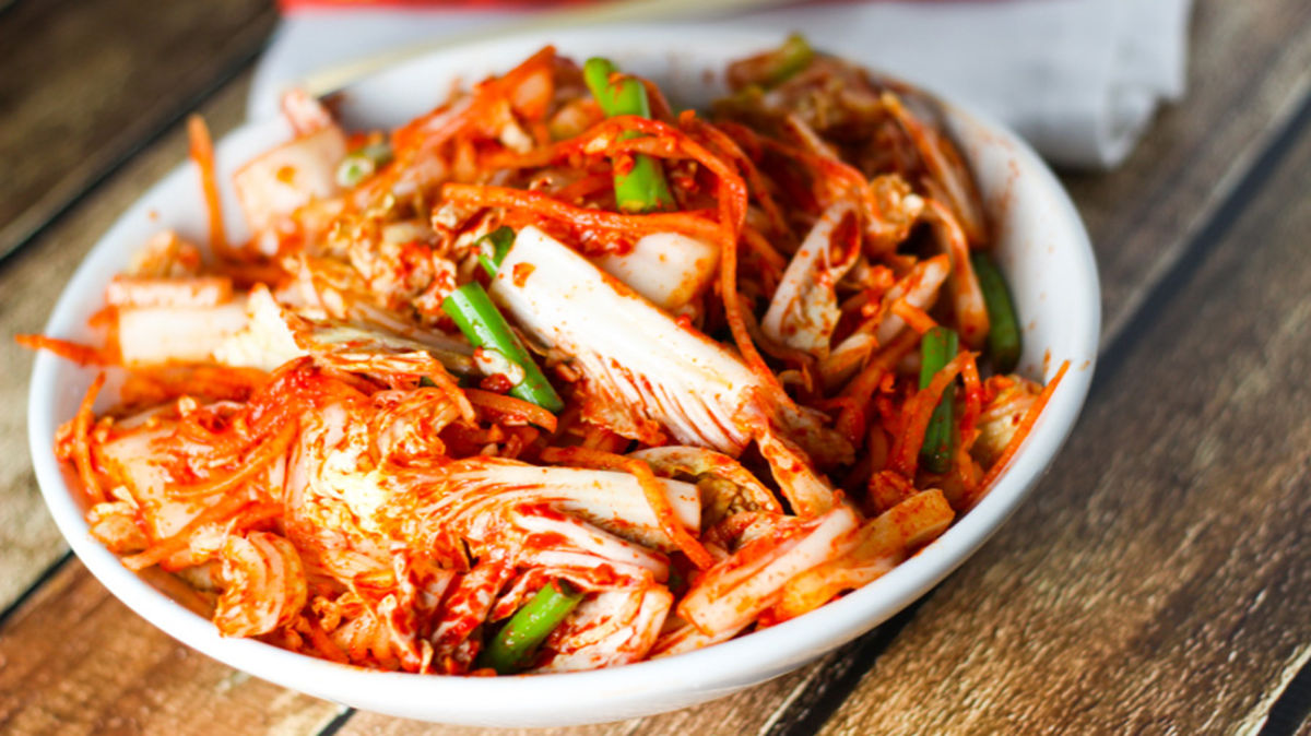 Làm kim chi Hàn Quốc đơn giản