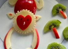 Trang trí món ăn khiến con thích mê