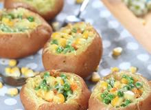 Món ngon cho Bé: Khoai tây nướng phô mai