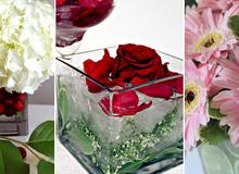 3 cách cắm hoa đẹp mà đơn giản bằng bình vuông nhất định bạn nên thử