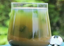 Sữa đậu xanh thạch món giải nhiệt tuyệt vời cho ngày hè oi nóng