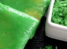 Thành viên vào Bếp: Làm bánh cốm dẻo nhớ mùa thu Hà Nội