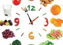 Chọn giờ ăn phù hợp cho từng món