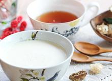 Sữa gừng thơm hương, lạ vị ấm áp ngày đầu Đông