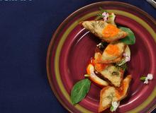 Món nấu nhanh: Bánh mì chiên bách hoa hải sản