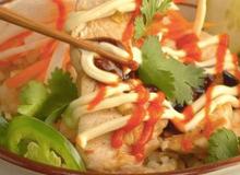 Đổi bữa cho cả nhà với món cơm gà nướng sả thơm nức mũi