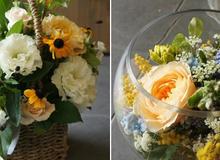 2 cách cắm hoa đơn giản trang trí nhà đẹp tinh tế