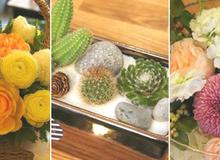 3 cách cắm hoa đẹp rực rỡ trang hoàng nhà đón năm mới