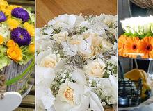 3 cách cắm hoa trong hình dáng bánh kem thật đẹp