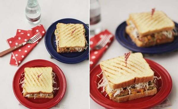 Bánh kẹp sandwich thơm ngon cho bữa sáng đầy dưỡng chất 15