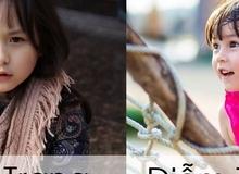 Top tên Hán Việt hay, ý nghĩa cho con gái 2016 (Phần 2)