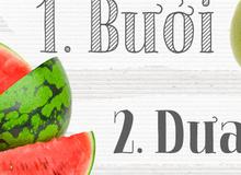 """Điểm danh các loại thực phẩm """"ngậm"""" nhiều và ít thuốc trừ sâu nhất"""