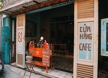 Quán cà phê như ngôi nhà xưa ở Sài Gòn