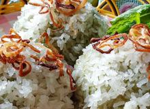 Xôi khúc – món ăn bình dân dẻo thơm khó cưỡng
