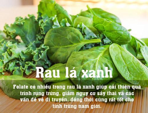 10 thuc pham la thuoc bo cho me muon thu thai - 3