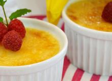 Làm Crème Brûlée cực đơn giản