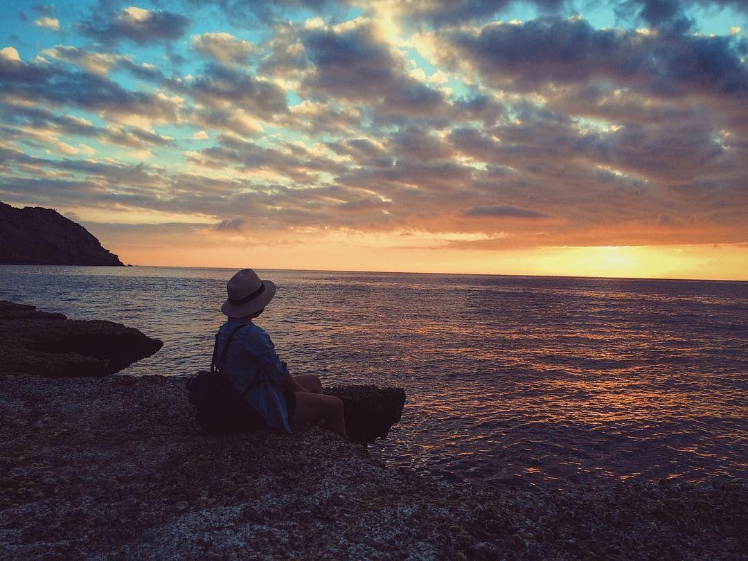 Hang Rái trong ánh hoàng hôn. Ảnh: tieulinh93/instagram