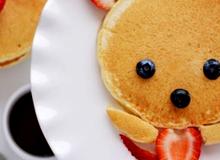 Pancake gấu cực xinh cho bữa sáng