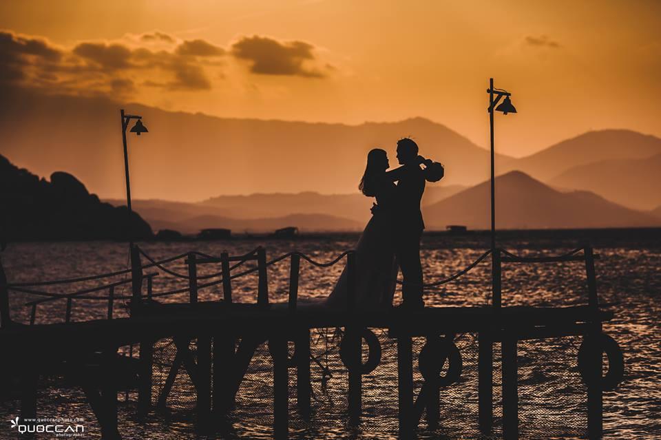 Mấy ai biết những khung cảnh lãng mạn thế này ở Sao Biển, Bình Lập.