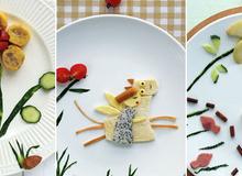 3 cách trang trí món ăn với bánh mỳ xinh yêu mà dễ dàng
