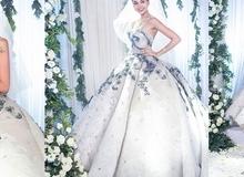 Next Top Model: Thanh Hằng diện váy cưới gần 1 tỷ đồng