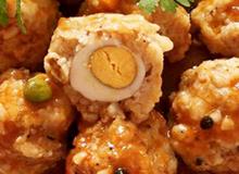Xíu mại tôm thịt bọc trứng cút