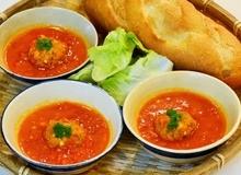 Điểm tâm ngon lành với xíu mại sốt cà chua nhà làm