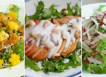 Giảm cân hiệu quả với 3 công thức salad đơn giản dễ làm