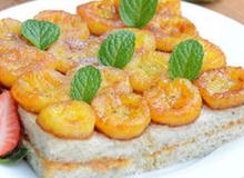 Bữa sáng lạ miệng với bánh mỳ chuối nướng siêu tốc