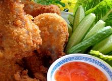 Thành viên vào Bếp: Tự làm gà chiên KFC giòn ruộmchobé