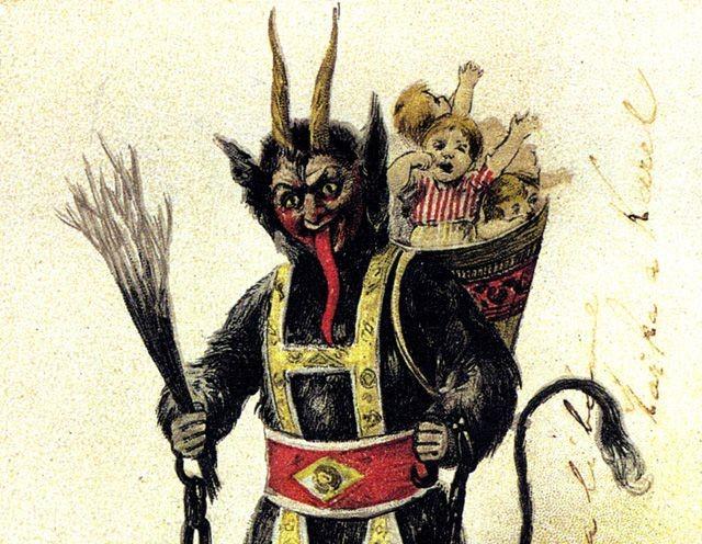 Những truyền thống Giáng sinh kỳ lạ trên thế giới - Ảnh 2.