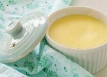 Flan phô mai (Cream cheese flan)